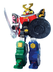 power ranger samurai megazord walking mega