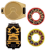 power rangers super samurai black morpher
