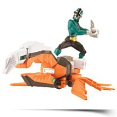Beetle Zord And Green Ranger Forest