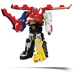 Megaforce Deluxe Gosei Great Megazord