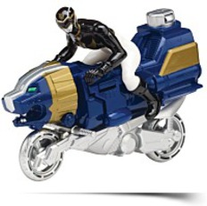 Megaforce Sea Lion Black Ranger Cycle