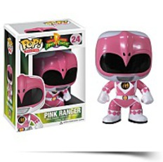 Pop Television Power Rangers Pink Vinyl