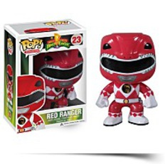 Discount Pop Television Power Rangers Red Vinyl