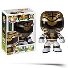 Pop Television Power Rangers White Vinyl