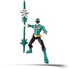 Samurai Ranger Forest Action Figure