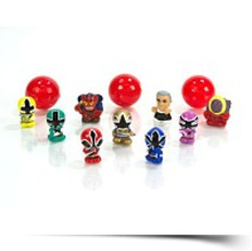 Discount Squinkie Power Ranger 12 Piece Bubble