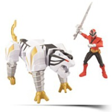Tiger Zord And Mega Ranger Fire