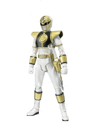 Bandai Tamashii Nations Mighty Morphin Power Rangers White Ranger S. H. Figuarts Action Figure
